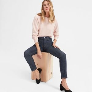 Everlane, High-rise Skinny Jeans in Ink, size 24.